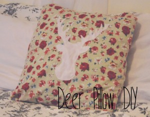 Deer Pillow DIY
