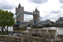 For the longest time I thought this was the London bridge but found out in London that it's the Tower Bridge! London Bridge is more or less this regular little concrete bridge!