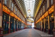 Another area visited solely for the reason that it was used for Harry Potter - Leadenhall Market is a beautiful indoor market place with many cute little shops! I went on a day it was closed otherwise I definitely would not have gotten a picture like this