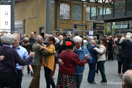 Impromptu Waltz in the middle of Old Spitalfield Market <3