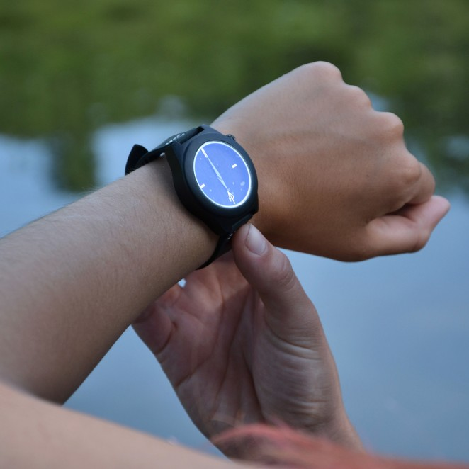 Shots of nature-inspired watches during blue hour? Yes please!